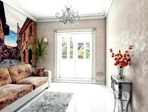 «Жидкий мрамор» в интерьере квартиры – (Ремонт квартир)