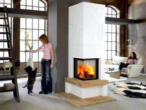 Камин в доме - тепло и уют