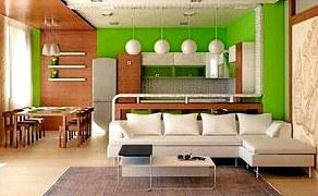 Ремонт квартиры-студии под ключ - создание весеннего настроения на весь год