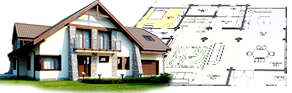 Архитектурное проектирование частного дома с мансардой