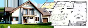 Как быстро построить дом с навесом для автомобиля в Харькове