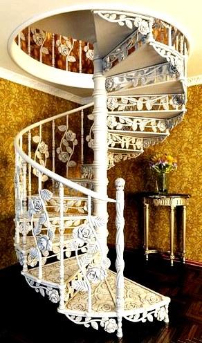 Винтовая лестница - выполняем самостоятельно