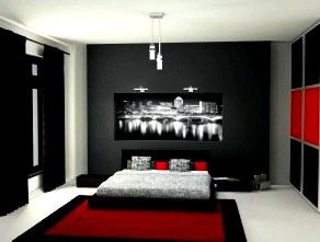 Дизайн интерьера мужской комнаты