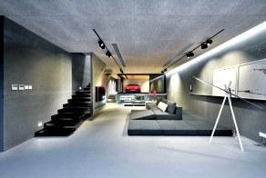 Архитектура строгого стиля техно