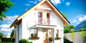 Балкон в проекте дома с жилой мансардой: плюсы и минусы