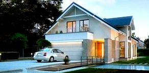 Дренаж и ливневые стоки в проектах домов с мансардой