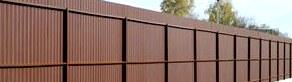 Забор из профнастила — просто, доступно, быстро